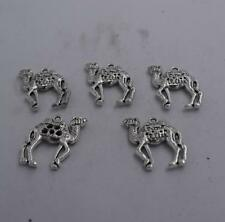 4pcs Antique silver plated nicecamel  charm pendant T0939