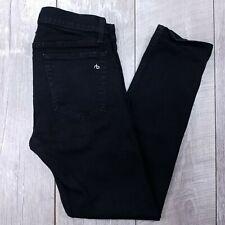 Rag & Bone Fit 1 Extra Slim Jeans Mens 32x30 Black Wash Straight Stretch J1414