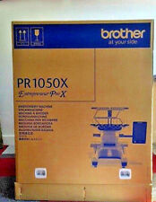 Demo Machine Brother PR1050 X  - 10 Needle Embroidery Machine -  Sold As is.