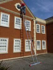 2 Section EN131 Trade Master Extension Ladder Double Ladders FREE Stabiliser Bar