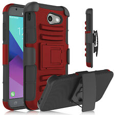 Shockproof Hybrid Holster Kickstand Case Cover For Samsung Galaxy J3 2017/Emerge