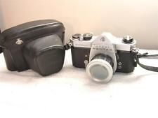 PENTAX ASAHI SPOTMATIC SP SLR CAMERA BODY+pdf Manual+TelXtender Lens+Case