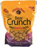 Bear Crunch Grain Free Treats For Dogs Natural Crunch Wholesome Turkey 8oz