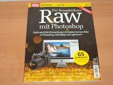 """Digital Photo Sonderheft 196 Seiten """"Der Komplettkurs Raw mit Photoshop"""" 2017!"""