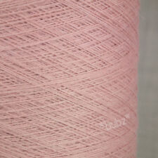 GORGEOUS SOFT ANGORA MERINO WOOL YARN 250g CONE 5 BALL LIGHT PINK 2 PLY KNITTING