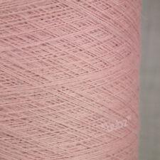 Magnifique doux angora laine Mérinos Fil 250 G Cônes 5 boules rose clair 2 Plis Tricot