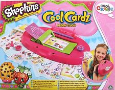 CREATE COOL CARDZ - SHOPKINS DESIGN STUDIO CARD MAKER  BY FLAIR - BRAND NEW!