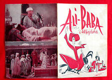 ALI BABA AND THE FORTY THIEVES 1954 FERNANDEL JACQUES BECKER EXYU MOVIE PROGRAM
