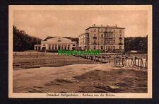 114113 AK Heiligendamm Kurhaus von der Brücke um 1930