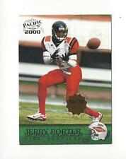 2000 Pacific Premiere Date #435 Jerry Porter Rookie Raiders /78