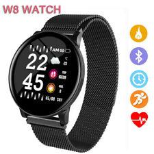 Reloj Inteligente de Pulsera Sport W8 Fitness Ritmo Cardíaco Rastreador de fitness para Android iOS