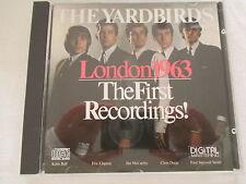 The Yardbirds - The First Recordings! London 1963 - CD SANYO JAPAN no ifpi