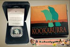 2005 - 50c. Kookaburra Silver Proof 1/2oz. Square Coin
