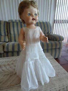 Vintage Pedigree 1950's Walking Doll 54cm Made in England,
