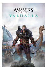 LAMINATED Assassins Creed Valhalla Poster Official Licensed 24x36"