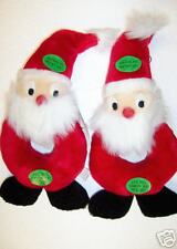 Christmas Holiday Squeaky Dog Toy  (2) Plush Puppies for the price of one