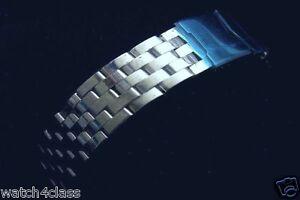 18 mm st steel bracelet strap band (fits) BREITLING BLACKBIRD Chronomat PILOT