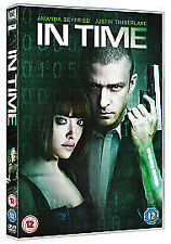 In Time DVD New & Sealed 5039036050029