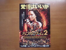 The Hunger Games:Catching Fire MOVIE FLYER mini poster chirashi ver.2 Japanese
