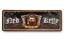 NED KELLY SOUVENIR/MEMORABILIA (AUSTRALIAN BUSH RANGER) NUMBER PLATE