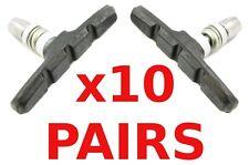 10 paia di blocchi del freno/ceppi di freni per freni MTB v All'ingrosso Lavoro Lotto BS27BK
