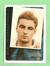 2003 DUAL INTERNATIONALS  RUGBY UNION CARD - DI4 ALAN WALKER, 1949-50 CRICKET