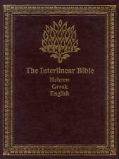 The Interlinear Bible: Hebrew/Greek/English