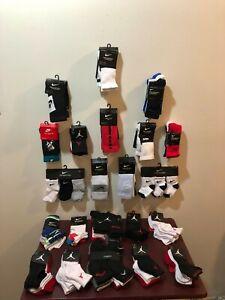Nike & Jordan Kids Socks, Infant, Toddler, Pre-School & Kids, Various Sizes