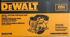 Dewalt DCS373B 20 voltios Corte De Metales Sierra Circular Nuevo En Caja