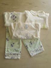 Gymboree Baby Girl Flower 4Pc Outfit Size 12-18M