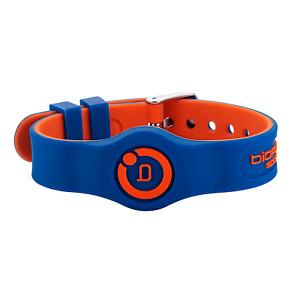 Bioflow Sport Flex Magnetic Therapy Wristband Blue/Orange - From Bioflow Direct