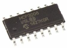 Microchip MCP3008-I / Sl, 10-bit Serial ADC Pseudo Differential, Einendig Inpu