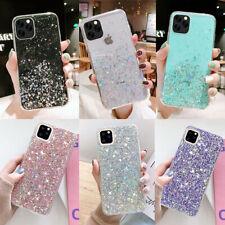 iPhone 8 Plus XR XS MAX 11 Pro Max Bling Glitter Case TPU Case Girls Cute Cover