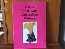 Australian PATES POTTERY BOOK COLLECTABLE