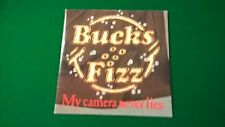 """575) - Bucks Fizz - 7"""" - My Camere Never Lies - with Poster"""