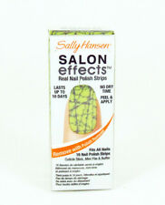 Sally Hansen Salon Effects Real Nail Polish Strips Hot Wired 16 count Lime Green