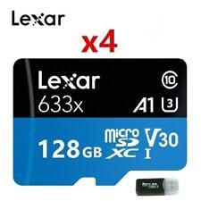 Lexar  128GB 256GB  MicroSD XC TF Memory card 633X U3 V10/V30 A1/A2 C10