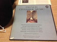 LOEWENGUTH Quartet French Chamber Music Franck Faure Debussy Ravel Roussel vox 3