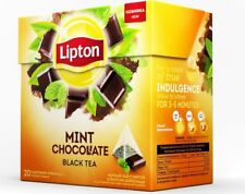 LIPTON Mint Chocolate black tea with mint and chocolate flavor 20 bags