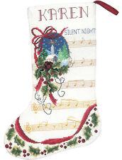 Cross Stitch Kit ~ Janlynn Silent Night Stocking #021-1913