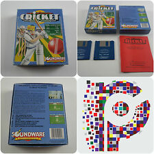Cricket A Soundware Game for the Commodore Amiga Computer tested & working