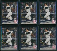 2017 Topps Now Aaron Judge RC #696 Rookie 6 Card Lot New York Yankees NYY
