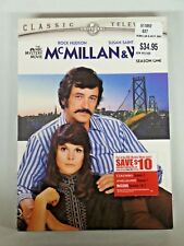 MCMILLAN & WIFE Season One DVD Sealed NEW Rock Hudson Classic Television