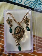 BOLLYWOOD NECKLACE SET  INDIAN TRADITIONAL JEWELRY