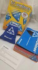 Tri-ominos Triangle Domino Game. Super Value Edition. Pressman Gintage 2007