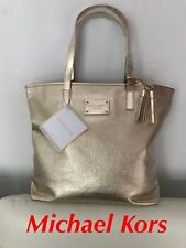 🆕MICHAEL KORS  GOLD  LADIES TOTE HANDBAG SHOPPER BAG Brand New FREE DELIVERY!!