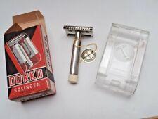 DORKO SOLINGEN Vintage Full Metal Rasierer UnbenDE Safety Razor Shaver from NOS!