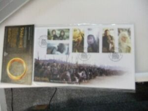 New Zealand 2003 Pair of FDC The Lord Of The Rings, Return Of The King