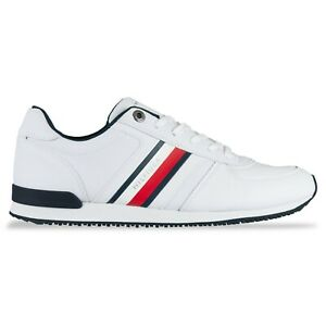 Tommy Hilfiger Trainers - Tommy Hilfiger Iconic Mix Runner Trainers - White
