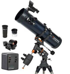 Celestron Astromaster 114 EQ-MD SMART Telescope - GorillaSpoke Free P&P Ire & UK